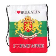 Мешка с българско знаме и герб