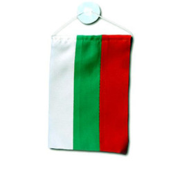 Българско флагче за кола 10 х 15 см