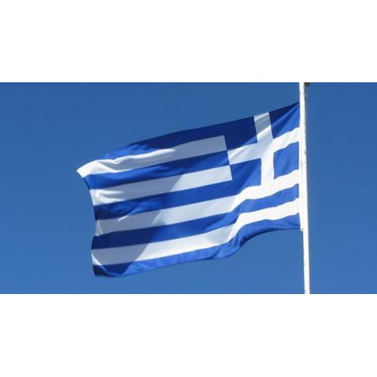 Флаг на Гърция
