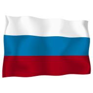 Руско знаме за бюро 16 х 22 см.