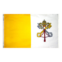 Флаг на Ватикана за бюро 16 х 22 см.