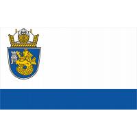 Флаг на Бургас за бюро 16 х 22 см