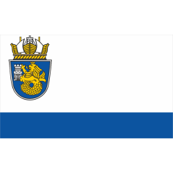 Флаг на Бургас печатан