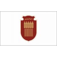 Флаг на Добрич за бюро 16 х 22 см.