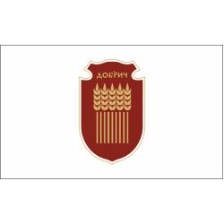 Флаг на Добрич печатан