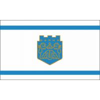 Флаг на Варна за бюро 16 х 22 см.