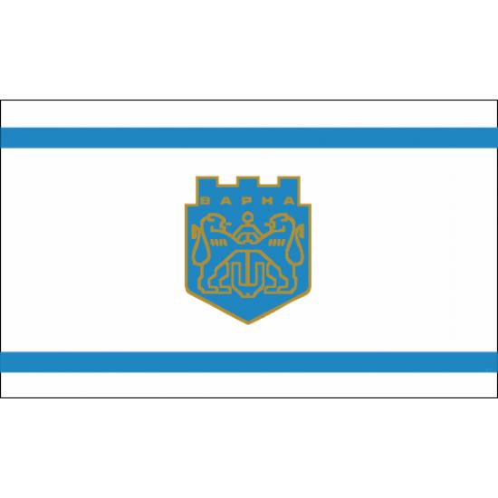 Флаг на Варна печатан