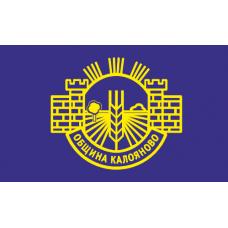 Флаг на Калояново за бюро 16 х 22 см.