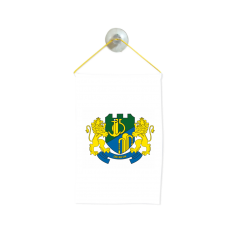 Флаг на Девня за кола 10 х 15 см.