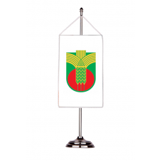 Флаг на Добричка община с двойна хоругва 13 х 18 см.