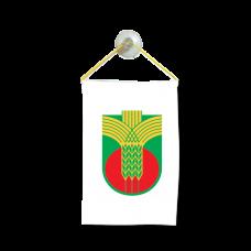 Флаг на Добричка община за кола 10 х 15 см
