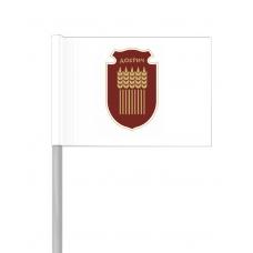 Флаг на Добрич от хартия 16 х 22 см.