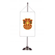 Флаг на Котел с двойна хоругва 13 х 18 см