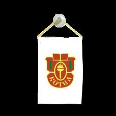 Флаг на Котел  за кола 10 х 15 см.