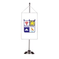 Флаг на Поморие с двойна хоругва 13 х 18 см
