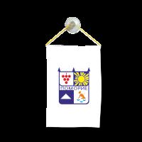 Флаг на Поморие за кола 10 х 15 см.