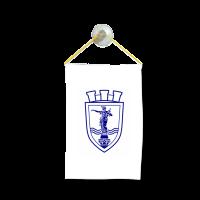 Флаг на Русе  за кола 10 х 15 см.