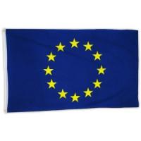 Флаг на Европейския съюз за бюро 16 х 22 см.