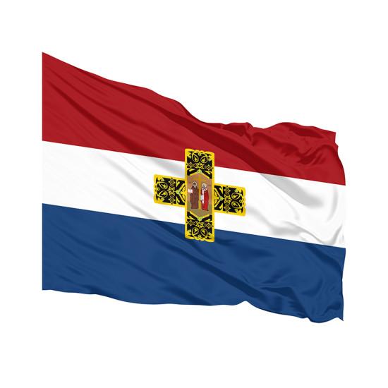 Самарско знаме печатано