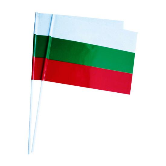 Българско знаменце от хартия 16 х 22 см.
