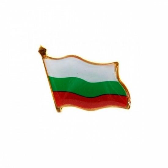 Значка с българско знаме