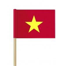 Флаг на Виетнам от хартия 16 х 22 см.