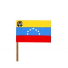 Флаг на Венецуела от хартия 16 х 22 см.