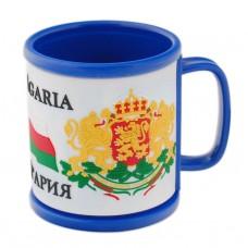 """Сувенирна чаша с надпис """"Аз обичам България"""""""