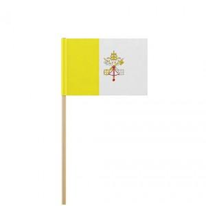 Флаг на Ватикана от хартия 16 х 22 см.