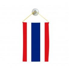 Флаг на Тайланд  за кола 10 х 15 см.