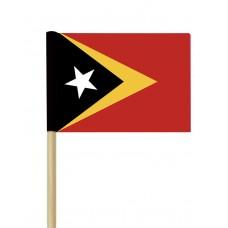 Флаг на Източен Тимор от хартия 16 х 22 см.