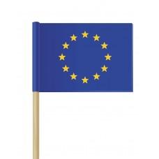 Флаг на Европейския съюз 16 х 22 см от хартия