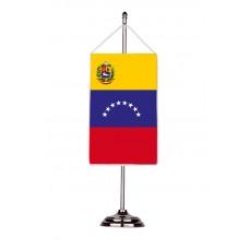 Флаг на Венецуела с двойна хоругва 13 х 18 см.