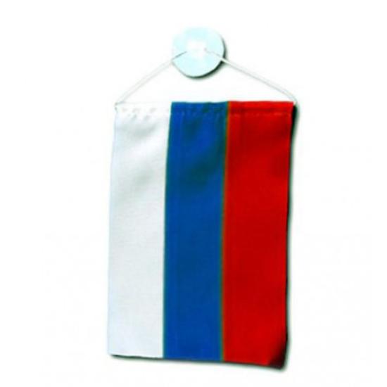 Руско знаме  за кола 10 х15 см.