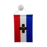 Самарско знаме за кола 10 х15 см