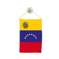 Флаг на Венецуела за кола 10 х 15 см.