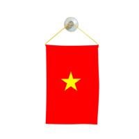 Флаг на Виетнам за кола 10 х 15 см.